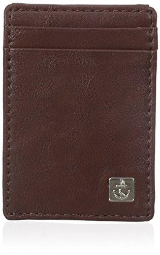 dockers-mens-belden-rfid-blocking-slim-magnetic-front-pocket-wallet-brown-one-size