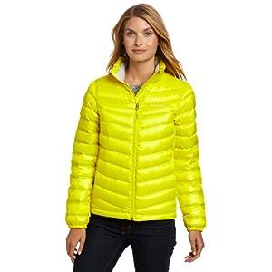 (疯抢)Marmot Women's Jena Jacket土拨鼠女款800蓬防水羽绒服 黑 $96.19 曲线未更