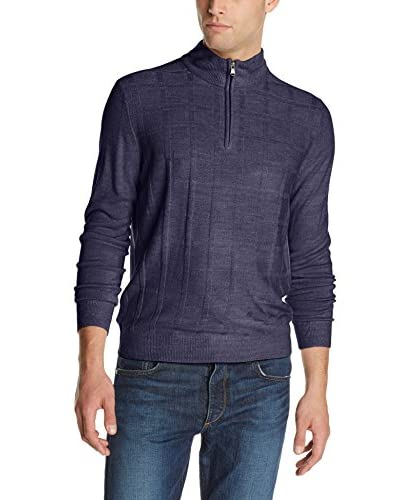 American Icon Men's Quarter Zip Sweater