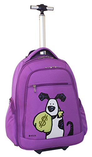 ed-heck-money-doggie-wheeled-backpack-20-inch-purple-one-size