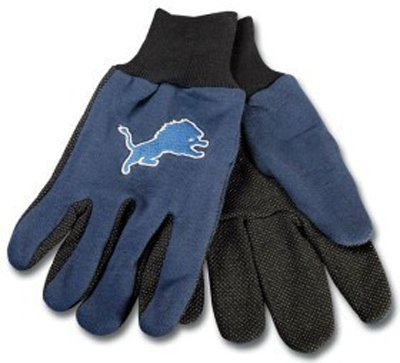 Detroit Lions Non Slip Utility Work Gloves at Amazon.com
