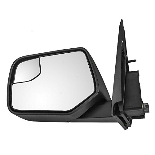 Drivers Power Side View Mirror with Blind Spot Glass Textured Replacement for Ford Mercury SUV AL8Z17683AA (2011 Ford Escape Mirror compare prices)