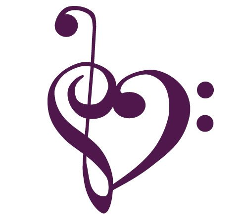 Purple Treble Clef Images amp Pictures Becuo