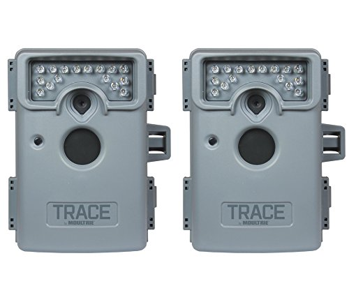(2) Moultrie Trace Premise Infrared Home/Outdoor Surveillance Security Cameras