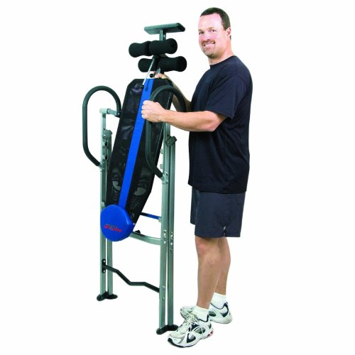 Inversion therapy table hang ups back pain relief folding for 1201 back therapy inversion table