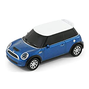 usb stick auto bmw mini cooper s 4 gb blau amazon. Black Bedroom Furniture Sets. Home Design Ideas