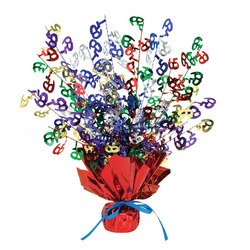 65 Gleam 'N Burst Centerpiece (multi-color) Party Accessory  (1 count) (1/Pkg) (65 Birthday Party Supplies compare prices)