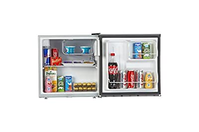 Haier HR-62HP Direct-cool Single-door Refrigerator (62 Ltrs, Silver)