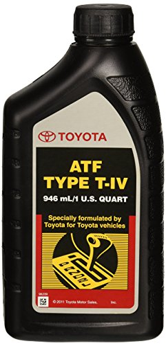 Toyota Lexus ATF Type T-IV Automatic Transmission Fluid OEM, 1 Quart (Automatic Transmission Toyota compare prices)