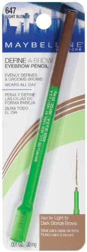 Maybelline New York Define-A-Brow Eyebrow Pencil, ...