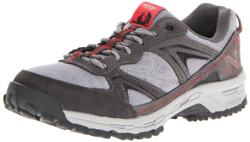 New Balance Women'S Ww659 Country Walking Shoe,Grey/Red,7.5 B Us