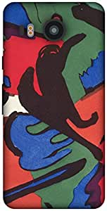 The Racoon Grip printed designer hard back mobile phone case cover for LG Nexus 5X. (The Blue R)