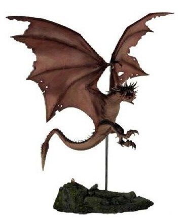 Picture of Gentle Giant Harry Potter Hungarian Horntail Dragon Statue Figure (B000GL7HTA) (Harry Potter Action Figures)
