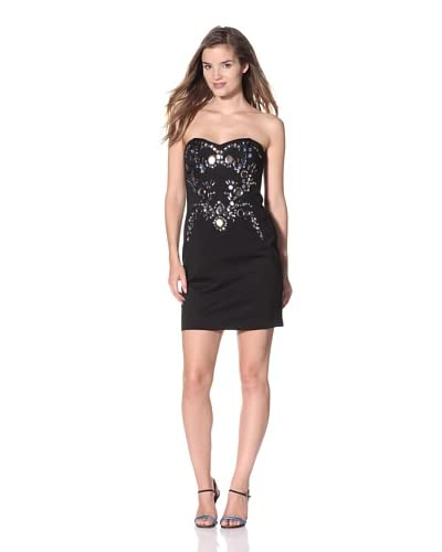 Adrianna Papell Women's Jeweled Cocktail Dress