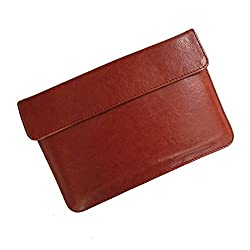 i-KitPit : PU Leather Pouch Case For Huawei Mediapad 10 Lite (BROWN)