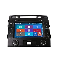 See Crusade Car DVD Player for Toyota Land Cruiser Lc200 2004- Support 3g,1080p,iphone 6s/5s,external Mic,usb/sd/gps/fm/am Radio 8 Inch Hd Touch Screen Stereo Navigation System+ Reverse Car Rear Camara + Free Map Details