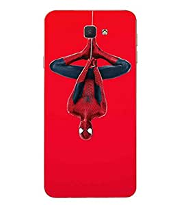 Case Cover Spider Man Printed Red Soft Back Cover For SAMSUNG Galaxy J7 Prime