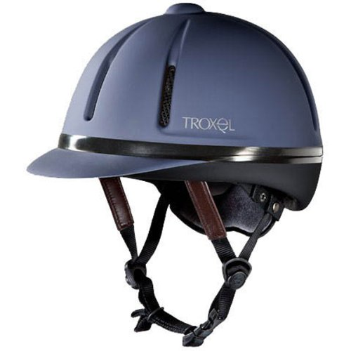 TROXEL Reithelm Legacy Gold Duratec, Gr. S, navy