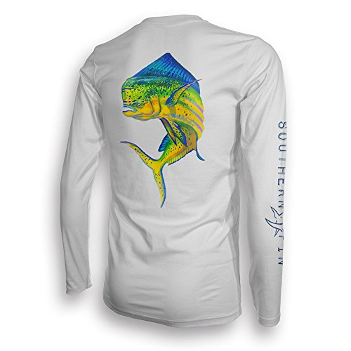 Performance fishing shirt southern fin apparel upf 50 for Dri fit fishing shirts