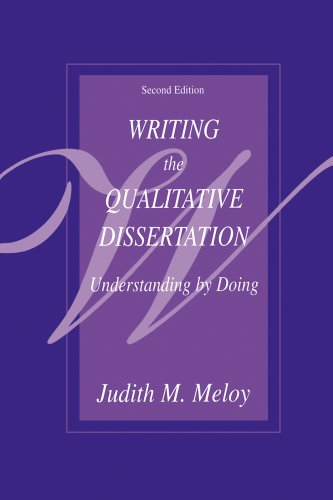 Writing the Qualitative Dissertation: Understanding by Doing