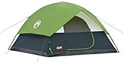 Coleman Sundome Tent 6 Person Length:305 cm X Breadth :305 cm x Height: 183 cm Pack weight: 8 Kgs