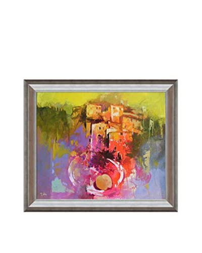 "Alex Bertaina ""Scena Interiore"" Framed Canvas Print"