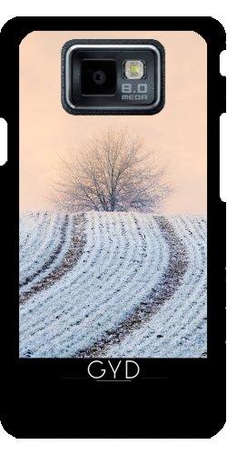 Custodia Samsung Galaxy S2 (GT-I9100) - Albero Hoar Modo Gelo Invernale by Katho Menden