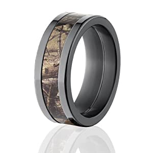 realtree camouflage inlay rings usa mfg camouflage