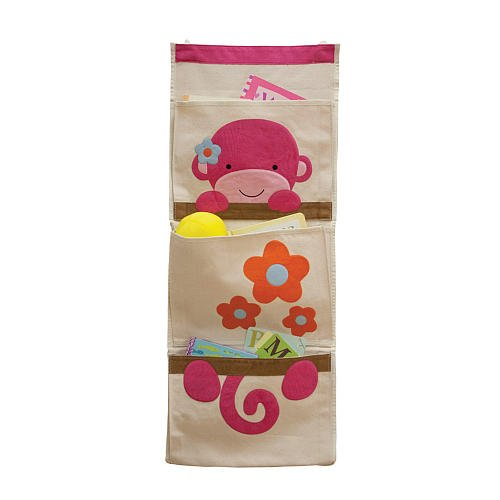 Little Boutique Wall Organizer - Monkey - 1