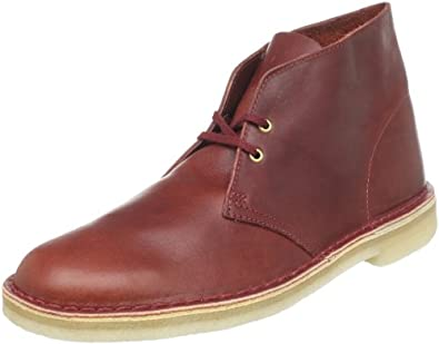 Clarks Men's Desert Boot,Redwood Leather,12 M US