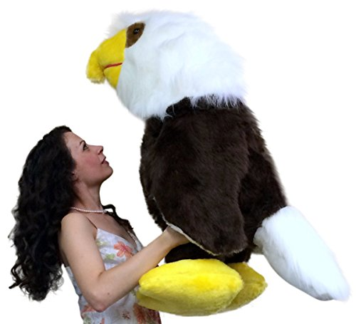 american-made-giant-stuffed-eagle-3-feet-tall-soft-brown-realistic-big-plush-bird-made-in-the-usa-am