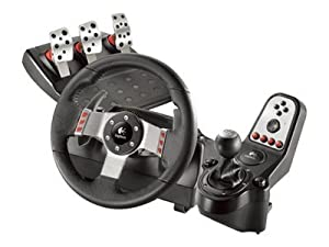 Logitech G27 Racing Wheel - wheel, pedals and gear shift lever set - wired (Catalog Category: Peripherals / PERIPHERA)