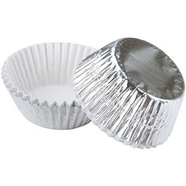 Cottura tazze-Silver Foil 24/Pkg - Standard