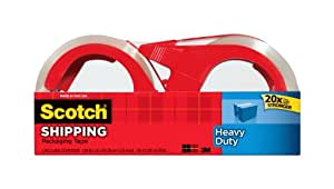 3M Scotch Packaging Tape, 1.88-Inch by 38.2-Yard (3510)