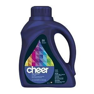 Cheer 2x Ultra Liquid Detergent Dark 26 Loads 50 Fl Oz