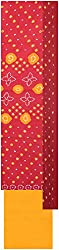 Payal Collection's Women's Cotton Unstitched Salwar (Red and Yellow)