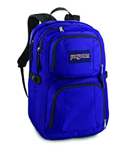 amazoncom jansport merit backpack electric purple