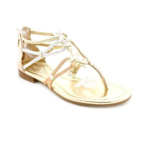 Ivanka Trump Women'S Rissa Sandal (Gold Multi, 7) front-923233