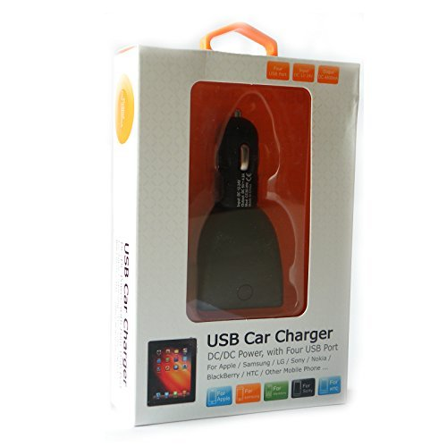 Sygtech 4-Port USB Car Charger
