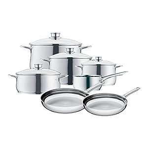 WMF 07 3057 6040 11-Piece Diadem Cookware