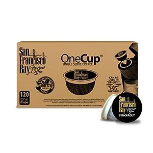 San Francisco Bay Coffee OneCup for Keurig K-Cup Brewers, French Roast by San Francisco Bay Coffee