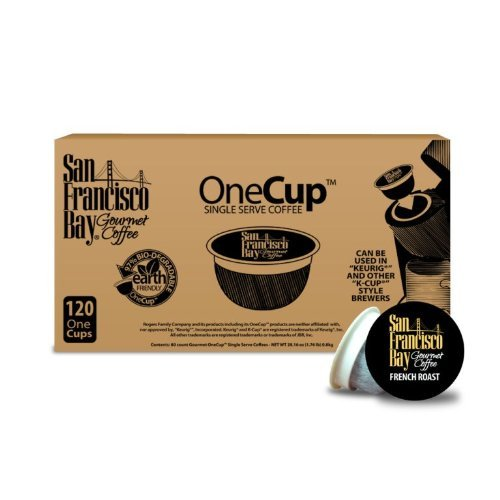 San Francisco Bay Coffee OneCup for Keurig K-Cup Brewers, French Roast – 160 Count