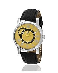 Yepme Liozec Mens Watch - Yellow/Black -- YPMWATCH2141