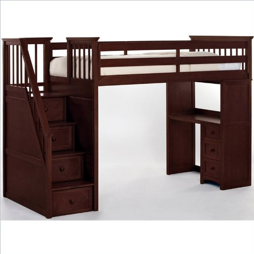 Bunk Beds With Stairs 6220 front