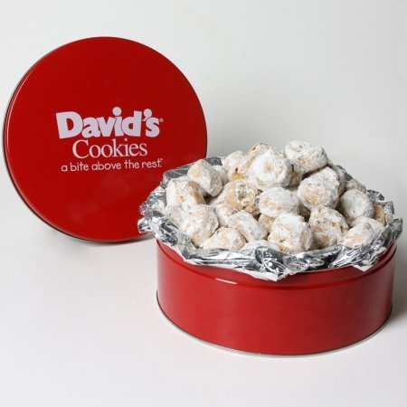 Davids Cookies 15001 Butter Pecan Meltaways - 40 pc