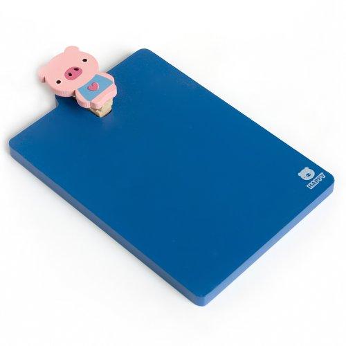 [Lovely Pig] - Refrigerator Magnet Clip / Magnetic Clipboard front-527519