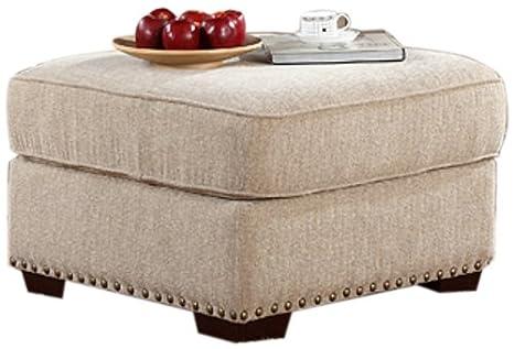 Abbyson Living Mona Fabric Ottoman
