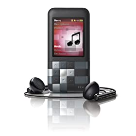 Creative Zen Mozaic 16 GB MP3 Player (Black)