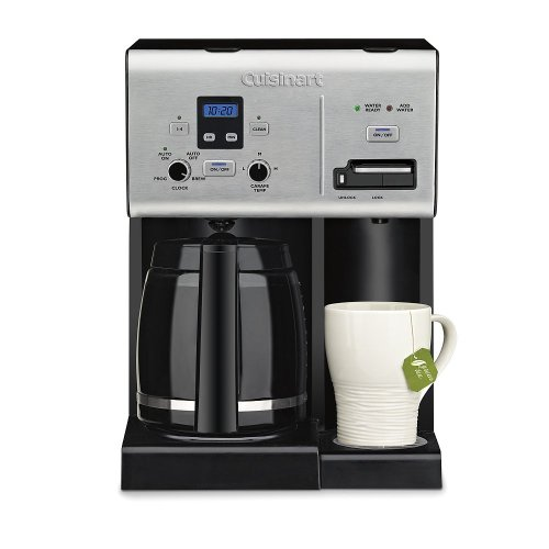 Cuisinart Coffee Plus 12-Cup Programmable Coffeemaker and Hot Water System CBCW-24SA