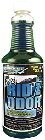 Unbelievable! UKO-507 32 Oz. Rid'z Odor Winter Green Mist Super Concentrated Deodorizer (Case of 12)